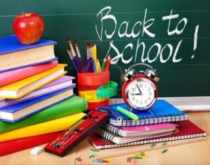 Back to School Supplies & Board