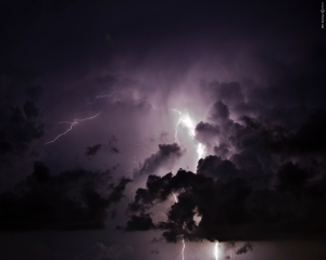 Morning-Thunderstorm-Aruba-MD-Schloer-Aruba-Daily-2011